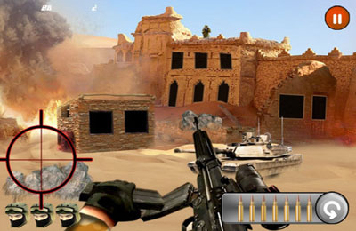 Screenshots of the Sniper (17+) HD game for iPhone, iPad or iPod.