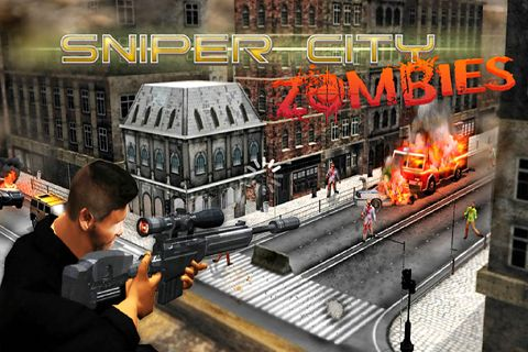 Download Sniper city: Zombies iPhone free game.