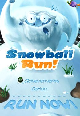Download Snowball Run iPhone free game.