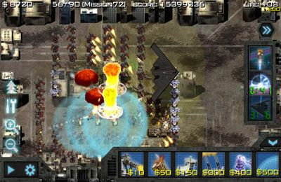 Screenshots of the Soldiers of Glory: Modern War TD game for iPhone, iPad or iPod.