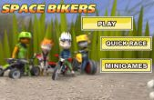In addition to the game Turbo Racing League for iPhone, iPad or iPod, you can also download Space Bikers for free