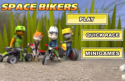 Download Space Bikers iPhone free game.