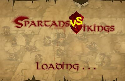 Screenshots of the Spartans vs Vikings game for iPhone, iPad or iPod.
