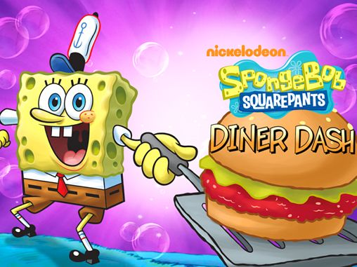Download Sponge Bob: Diner dash iPhone free game.