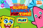 In addition to the game Snail Bob for iPhone, iPad or iPod, you can also download Sponge Bob's Super Bouncy Fun Time for free