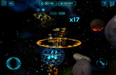 Screenshots of the Star Sweeper game for iPhone, iPad or iPod.