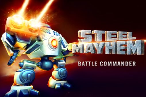 Screenshots of the Steel mayhem: Battle commander game for iPhone, iPad or iPod.
