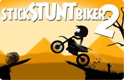 Download Stick Stunt Biker 2 iPhone free game.