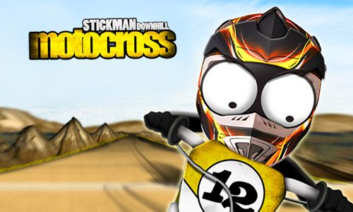 Download Stickman downhill motocross iPhone free game.