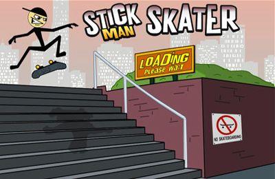 Download Stickman Skater iPhone free game.