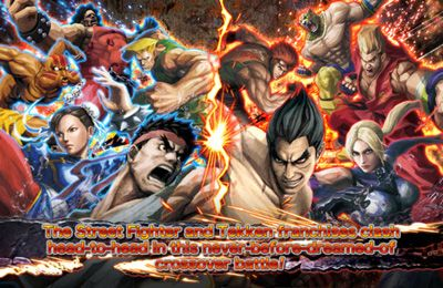 Screenshots of the STREET FIGHTER X TEKKEN MOBILE game for iPhone, iPad or iPod.