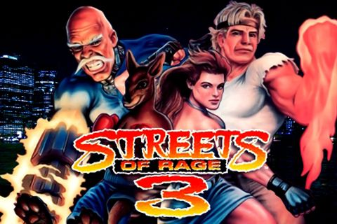 Download Streets of Rage 3 iPhone free game.
