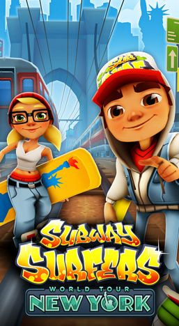 Download Subway surfers: New-York iPhone free game.
