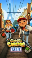 In addition to the game My Little Monster for iPhone, iPad or iPod, you can also download Subway surfers: Paris for free