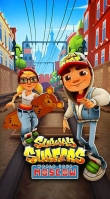 Download Subway surfers: World tour Moscow iPhone, iPod, iPad. Play Subway surfers: World tour Moscow for iPhone free.