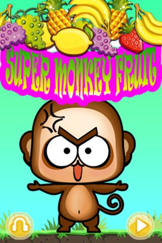 Download Super monkey: Fruit iPhone free game.