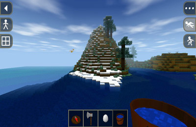 Screenshots of the Survivalcraft game for iPhone, iPad or iPod.