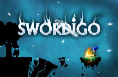 Screenshots of the Swordigo game for iPhone, iPad or iPod.