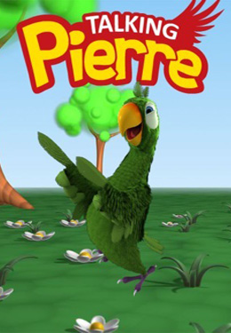 Screenshots of the Talking Pierre the Parrot game for iPhone, iPad or iPod.