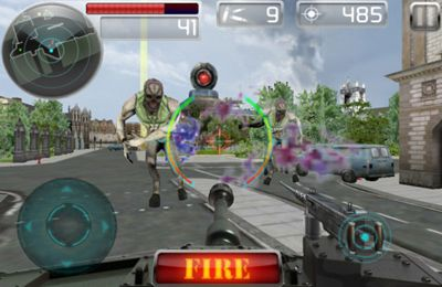 Screenshots of the Tank Battle game for iPhone, iPad or iPod.