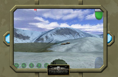 Screenshots of the Tank Battle - World of Tanks game for iPhone, iPad or iPod.