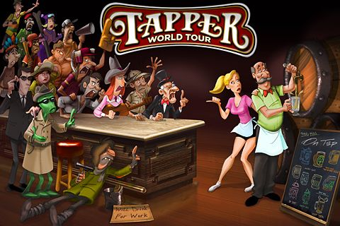 Download Tapper: World tour iPhone free game.