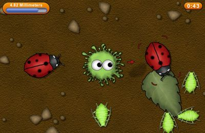 Screenshots of the Tasty Planet game for iPhone, iPad or iPod.
