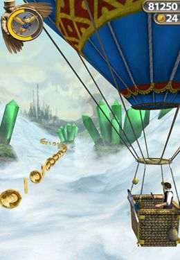 Screenshots of the Temple Run: Oz game for iPhone, iPad or iPod.