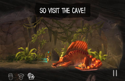 Screenshots of the The Cave game for iPhone, iPad or iPod.