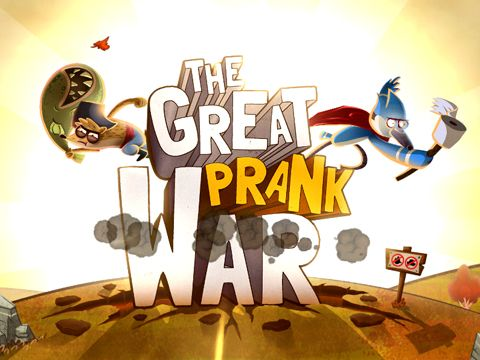 Download The great prank war iPhone free game.