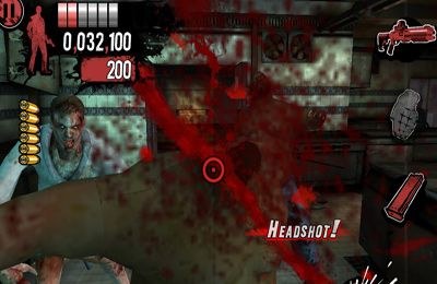 Screenshots of the The House of the Dead: Overkill game for iPhone, iPad or iPod.