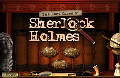 Screenshots of the The Lost Cases of Sherlock Holmes game for iPhone, iPad or iPod.