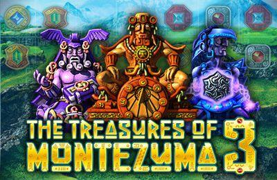 Screenshots of the The Treasures of Montezuma 3 game for iPhone, iPad or iPod.