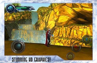Screenshots of the THOR: Son of Asgard game for iPhone, iPad or iPod.