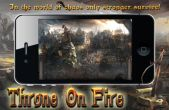 In addition to the game Ricky Carmichael's Motorcross Marchup for iPhone, iPad or iPod, you can also download Throne on Fire for free
