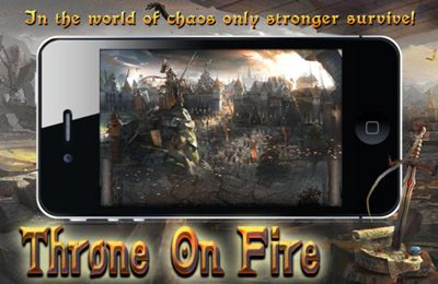 Screenshots of the Throne on Fire game for iPhone, iPad or iPod.