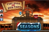 In addition to the game Kick the Buddy: No Mercy for iPhone, iPad or iPod, you can also download Tiny Ball vs. Evil Devil - Christmas Edition for free