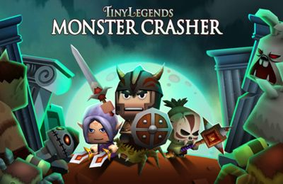 Download Tiny Legends: Monster crasher iPhone free game.