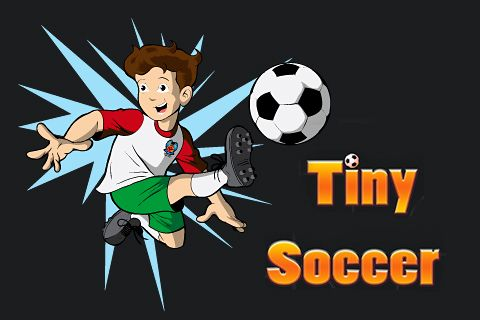 Download Tiny soccer iPhone free game.