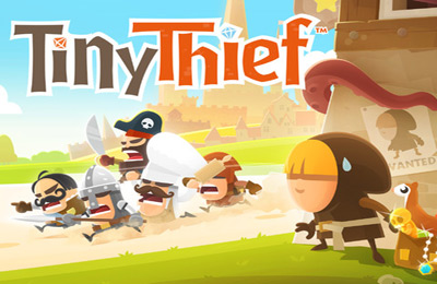 Screenshots of the Tiny Thief game for iPhone, iPad or iPod.