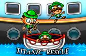 In addition to the game Angry Zombie Ninja VS. Vegetables for iPhone, iPad or iPod, you can also download Titanic Rescue for free