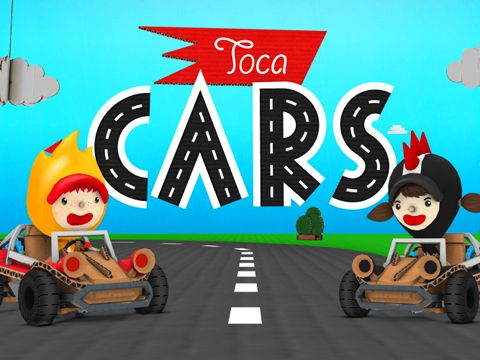Download Toca cars iPhone free game.
