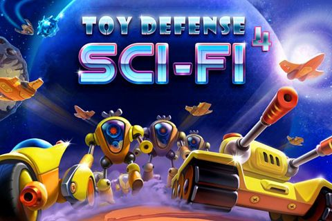 Download Toy defense 4: Sci-Fi iPhone free game.