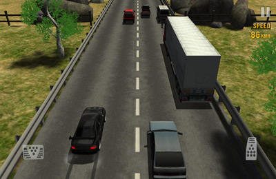 Screenshots of the Traffic Racer game for iPhone, iPad or iPod.
