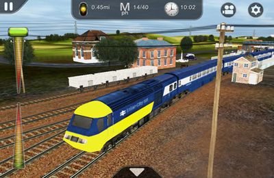 Screenshots of the Trainz Driver - train driving game and realistic railroad simulator game for iPhone, iPad or iPod.