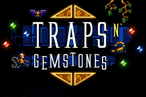 Download Traps n' gemstones iPhone free game.