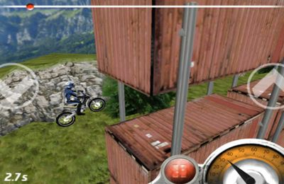 Screenshots of the Trial Xtreme 1 game for iPhone, iPad or iPod.