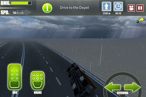 Screenshots of the Truck driver 3 game for iPhone, iPad or iPod.
