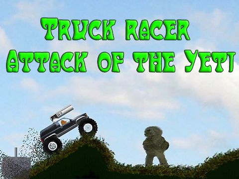 Download Truck racer: Attack of the Yeti iPhone free game.