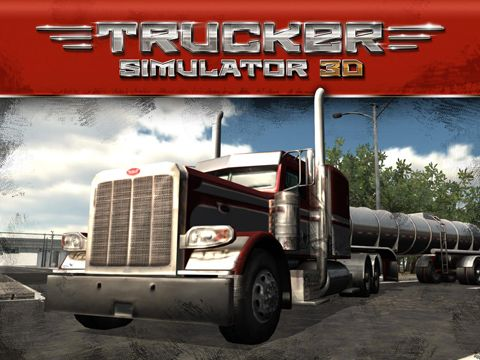Download Trucker simulator 3D iPhone free game.